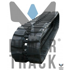 Rubber tracks for miniexcavators 190x72x37