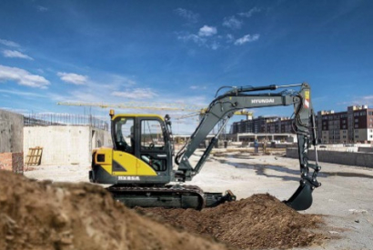 Hyundai's new HX85A midi-excavator impresses with exceptional power