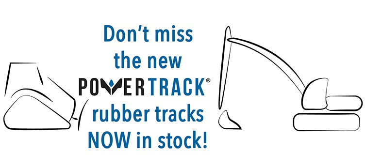 NEW POWERTRACK RUBBER TRACKS IN STOCK!