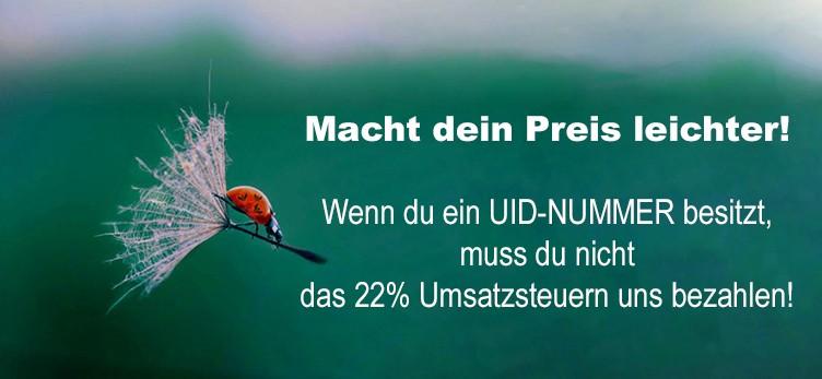 22% Umsatzsteuern NICHT ZU BEZAHLEN !